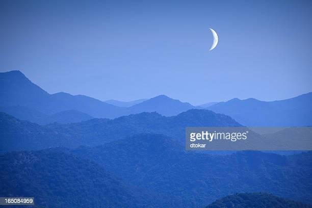 ニュームーンのモンテネグロ山脈