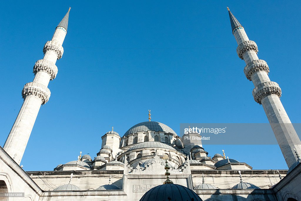 New Mosque, Yeni Camii : Foto de stock