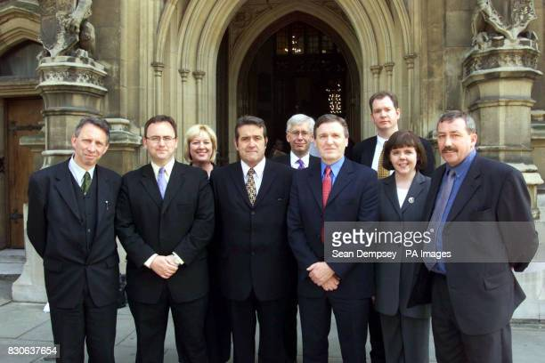 New MPs from Scotland outside the House of Commons Iain Luke from Dundee East David Cairns from Greenock and Inverclyde Anne Picking from East...