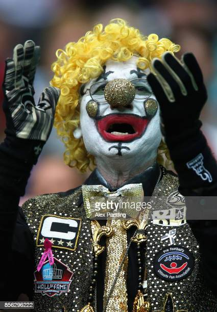 New Orelands Saints fan shows his support during the NFL International Series match between New Orleans Saints and Miami Dolphins at Wembley Stadium...