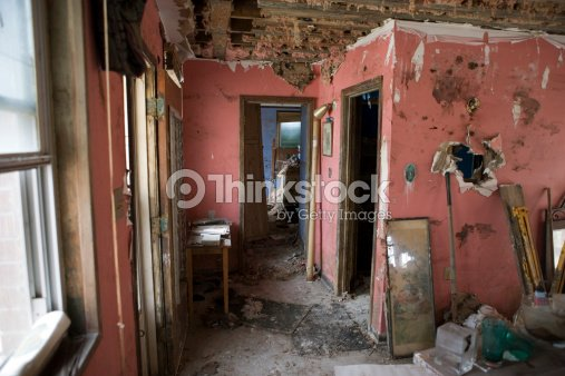 New Orleans After Katrina My House Interiors Stock Photo | Thinkstock