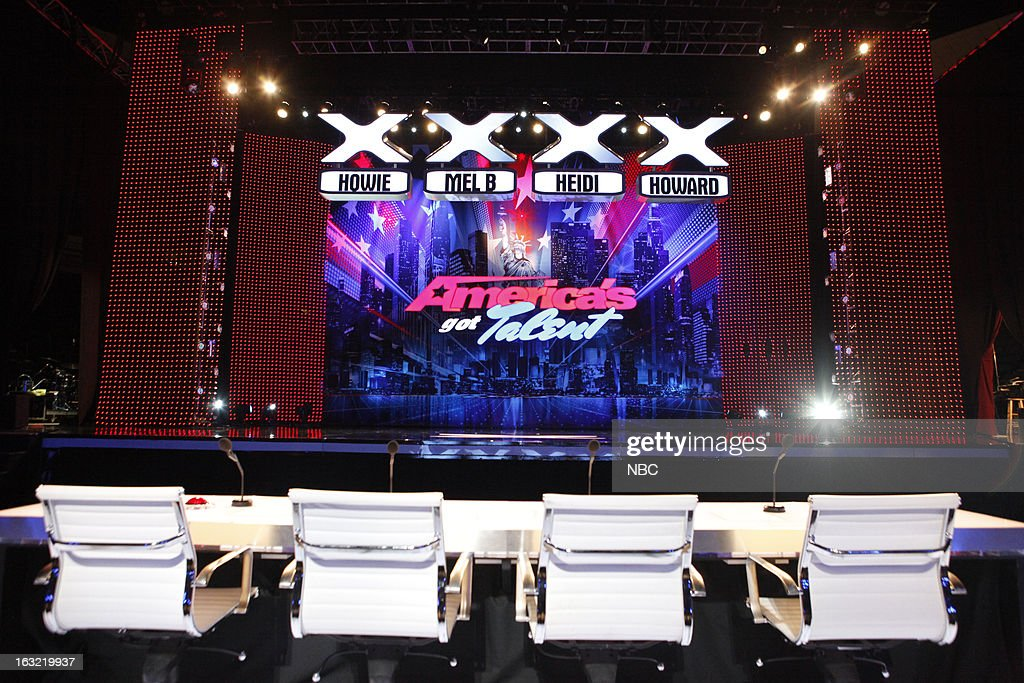 S GOT TALENT -- New Orleans Auditions -- Pictured: America's Got Talent stage --