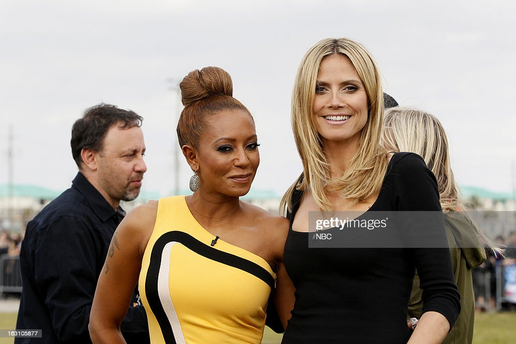 S GOT TALENT -- New Orleans Auditions -- Pictured: (l-r) Mel B, <a gi-track='captionPersonalityLinkClicked' href=/galleries/search?phrase=Heidi+Klum&family=editorial&specificpeople=178954 ng-click='$event.stopPropagation()'>Heidi Klum</a> --