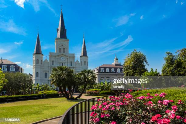 New Orleans Jackson Square und Saint Louis Cathedral