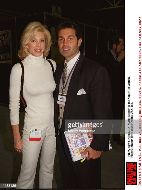 New Orleans LA Marla Maples at the Napie Convention