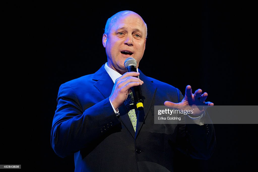 New Orleans Mayor <a gi-track='captionPersonalityLinkClicked' href=/galleries/search?phrase=Mitch+Landrieu&family=editorial&specificpeople=626024 ng-click='$event.stopPropagation()'>Mitch Landrieu</a> attends Tipitina's Foundation benefit concert at Saenger Theatre on July 27, 2014 in New Orleans, Louisiana.