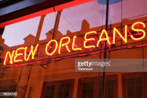New Orleans neon sign