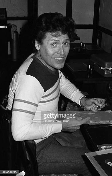 New Orleans rhythm and blues and rock'n'roll artist Frankie Ford at Muswell Hill on April 3 1984 in London UK