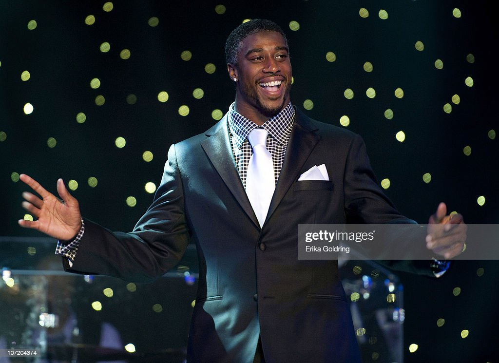 New Orleans Saints defensive back Roman Harper attends the Heath Evans Foundation Inaugural Rendevous with the Saints at Harrah's Theater at Harrah's...