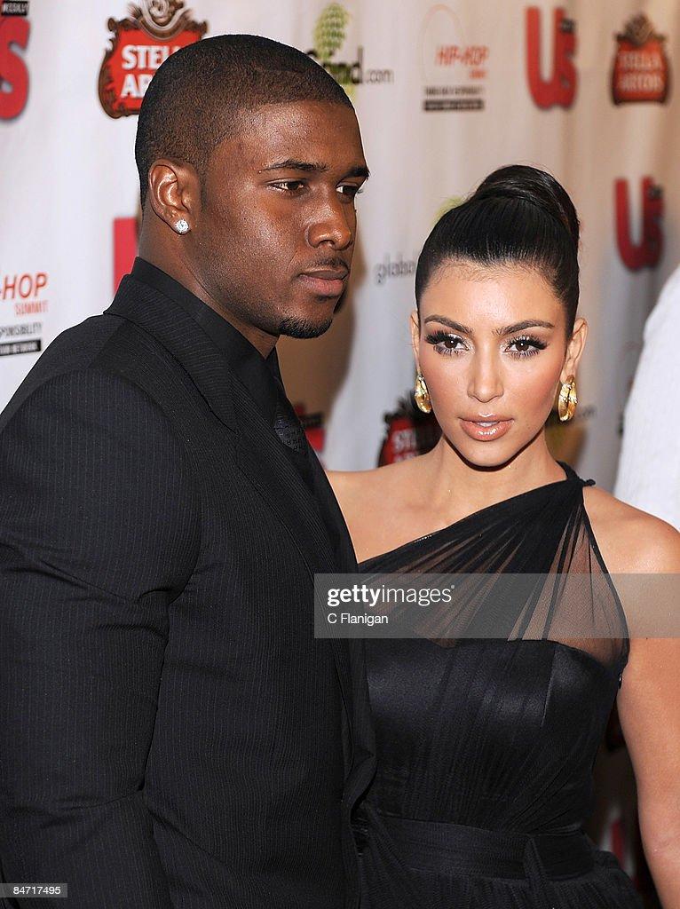 Kim Kardashian Reggie Bush Grinding GlobalGrind.com Presen...