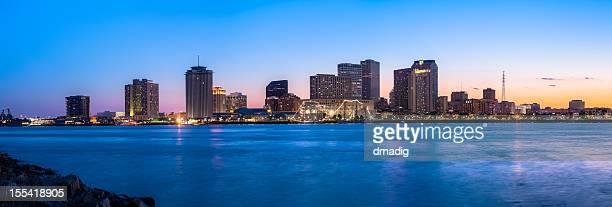 New Orleans Sonnenuntergang Panorama