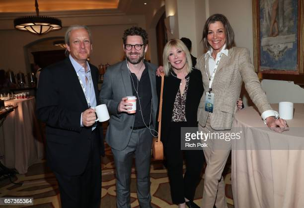 New Pacific Realty CEO and EMA board chair David Margulies Executive director of Business Development at EMA Asher Levin president/CEO of EMA Debbie...
