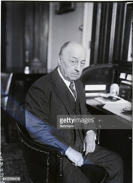 New photograph of Senator Philander C Knox of Pennsylvania who is prominently mentioned as Presidentelect Harding's choice for Secretary of State...