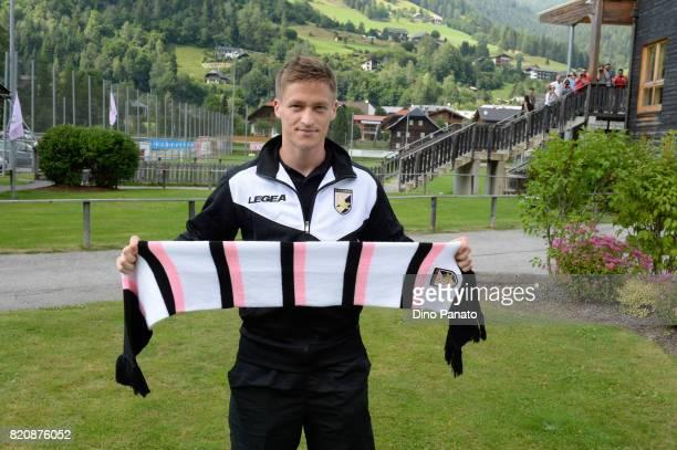 new player Murawski Radoslaw of US Citta di Palermo poses before the PreSeason Friendly match bewteen US Citta di Palermo and ND Ilirija at Sport...