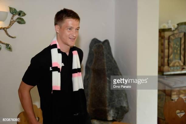 new player Murawski Radoslaw of US Citta di Palermo poses during US Citta di Palermo pre Session at Sport Arena on July 22 2017 in Bad Kleinkirchheim...