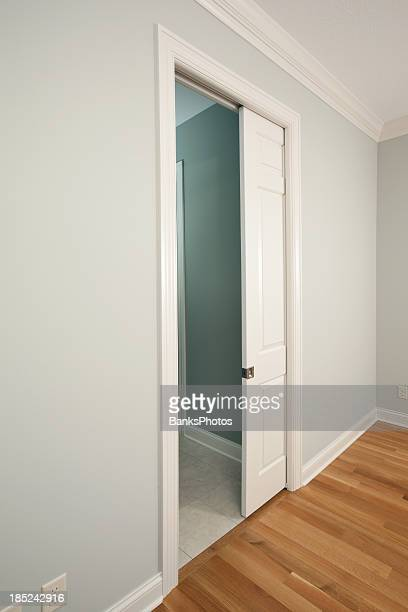 New Pocket Door in a House Bedroom