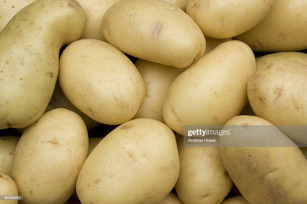 New Potatoes : Stock Photo