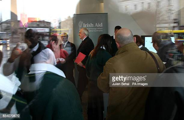A new public information centre on Ireland's overseas aid programme was today opened in Dublin by the Taoiseach Bertie Ahern