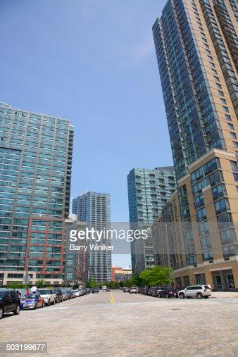 New Queens apartment towers atop cobblestones