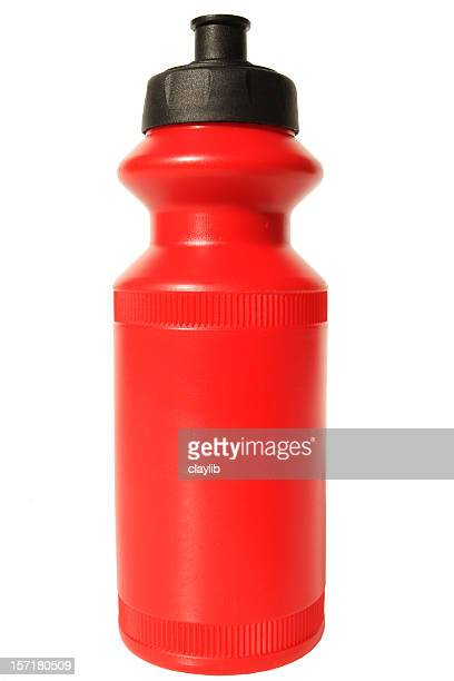 new red water bottle