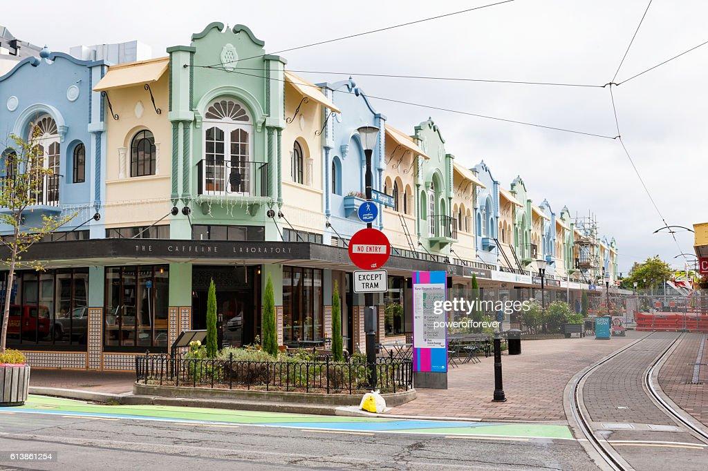 Christchurch Video Detail: New Regent Street In Downtown Christchurch New Zealand