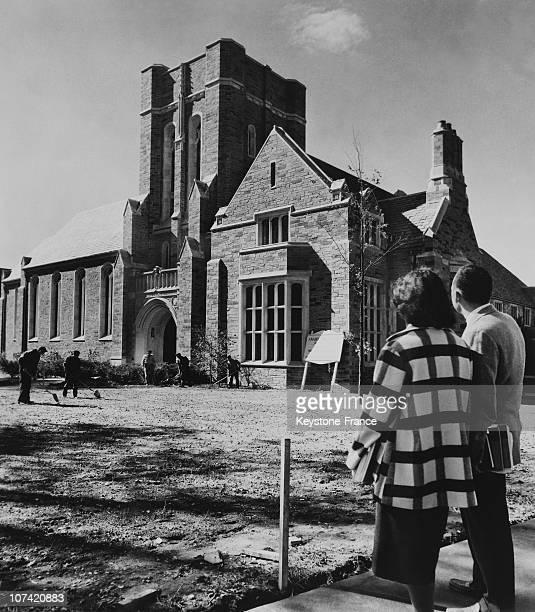 New Religious Center Cornell University At New York In Usa On 1952