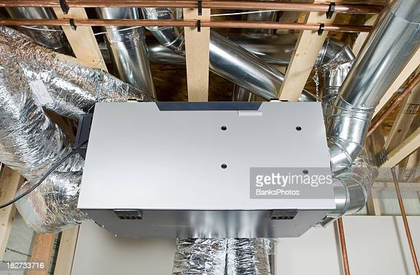 Ceiling Heat Exchanger : Air conditioning ceiling vents stock photos and pictures