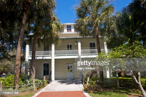 1905 New River Inn, first property in Broward County listed on the National Register of Historic Places, Ft. Lauderdale, FL, USA : Stock Photo