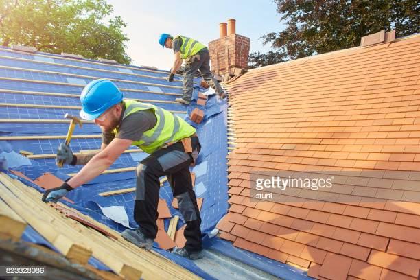 Dach-Neuinstallation