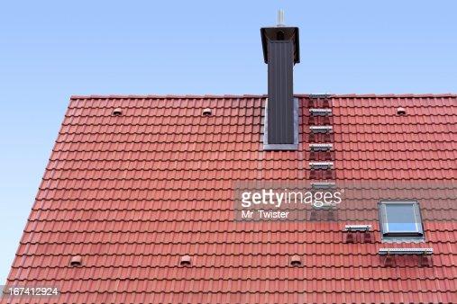 New roof : Stockfoto