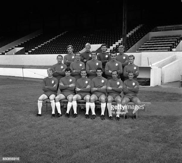 A new season picture of the Orient FC Team From left to right Back row Fullback Michael Jones K Goddard Goalkeeper Ronald Willis Fullback Albert Howe...