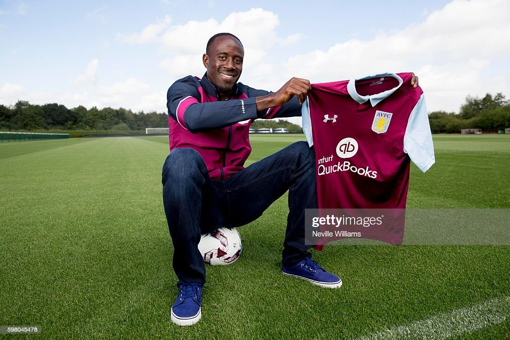 Aston Villa Unveil New Signing