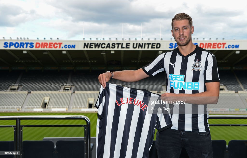 Newcastle Unveil New Signing Florian Lejeune : News Photo