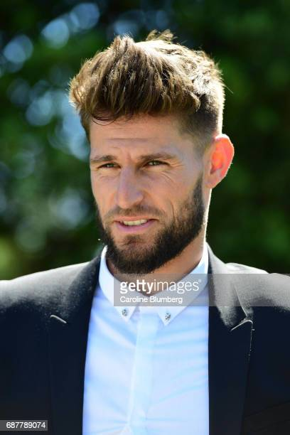 New signing player of Bordeaux Benoit Costil during press conference on May 24 2017 in Bordeaux France