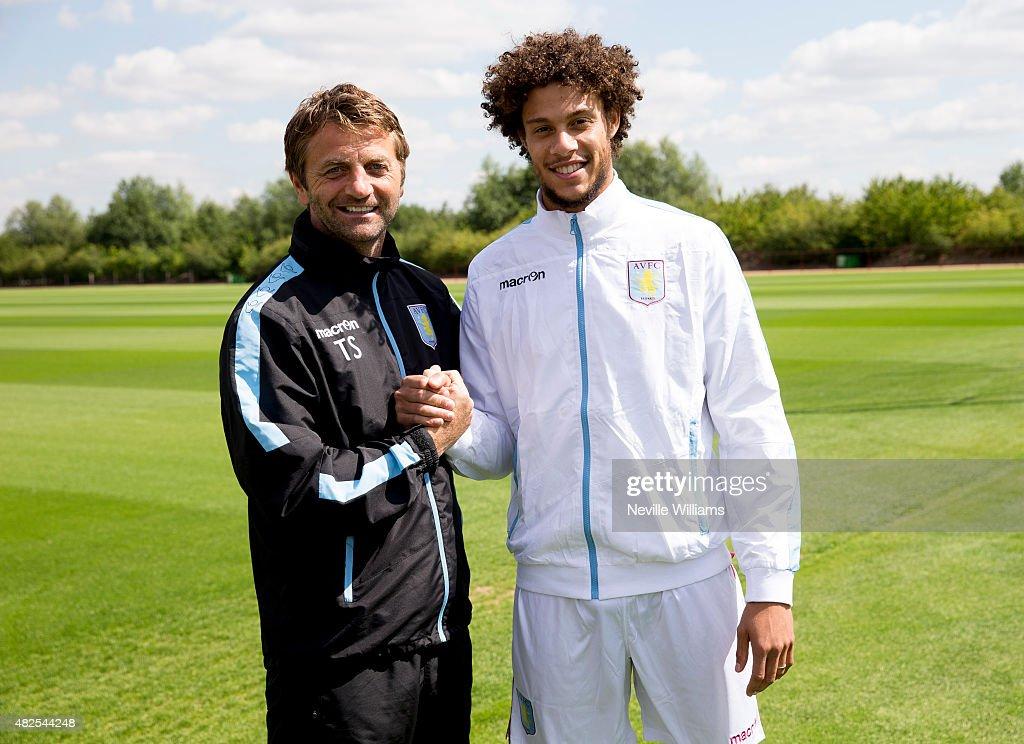 Aston Villa Unveil New Signing Rudy Gestede