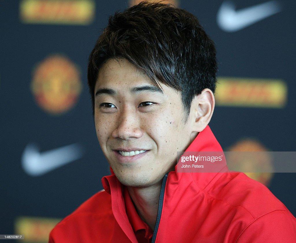 Shinji Kagawa And Nick Powell Manchester United Press