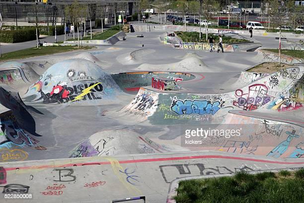 Novo Parque de skate a aguardar skatistas