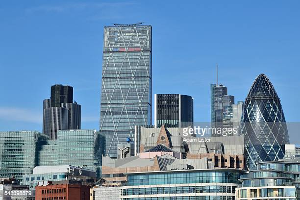 New skyline of the City of London