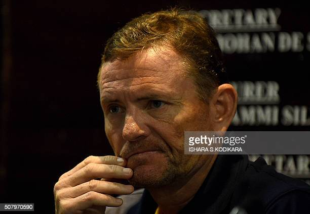 New Sri Lanka coach Graham Ford speaks to reporters in Colombo on February 2 2016The South African said he was honoured to return to Sri Lanka whom...