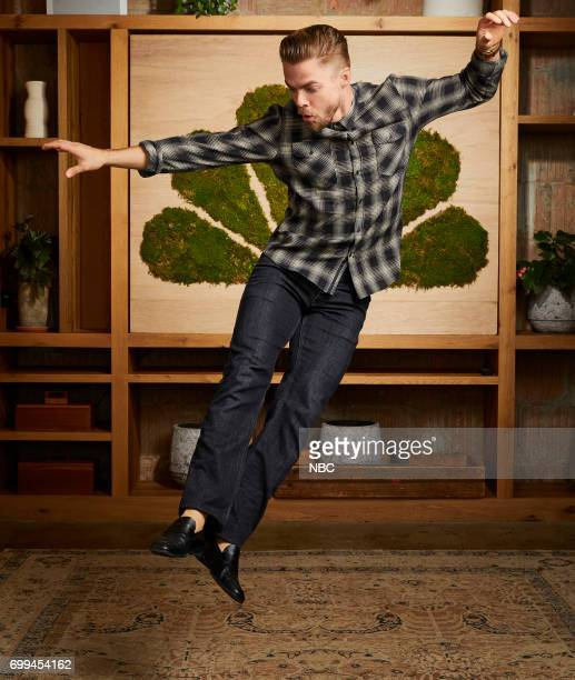 EVENTS New Talent Mixer NBC Portrait Studio Pictured Derek Hough 'World Of Dance'