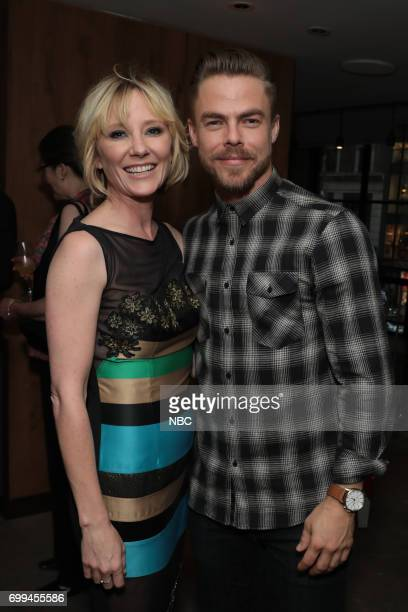Anne Heche 'The Brave' and Derek Hough 'World of Dance'