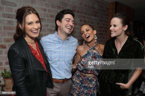 Briga Heelan 'Great News' Ben Feldman 'Superstore' Nicole Richie 'Great News' and Sarah Ramos 'Midnight Texas'