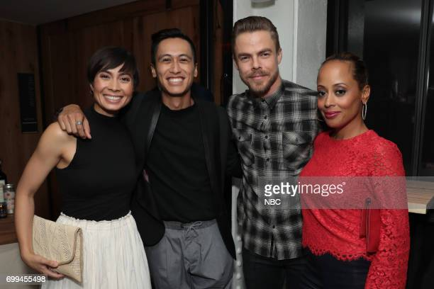 Mari Keone Derek Hough 'World of Dance' and Essence Atkins 'Marlon'