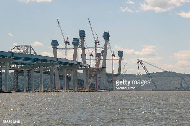 New Tappan Zee Bridge construction.