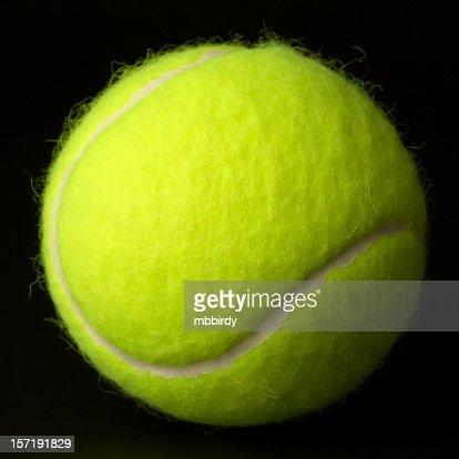 New tennis ball.