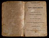 Antique New Testament Bible