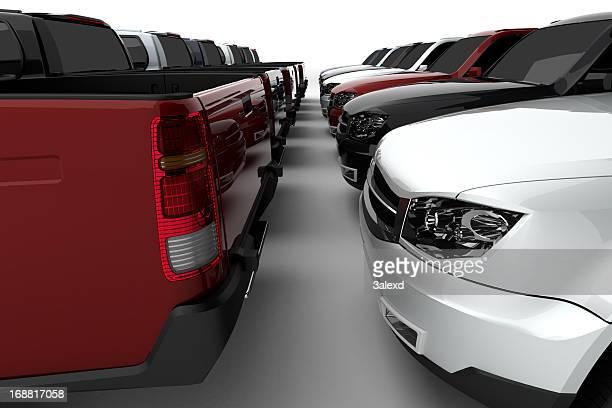 Neue Lastwagen