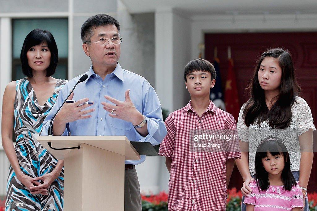 U.S. Ambassador To China Gary Locke Meets The Media In Beijing