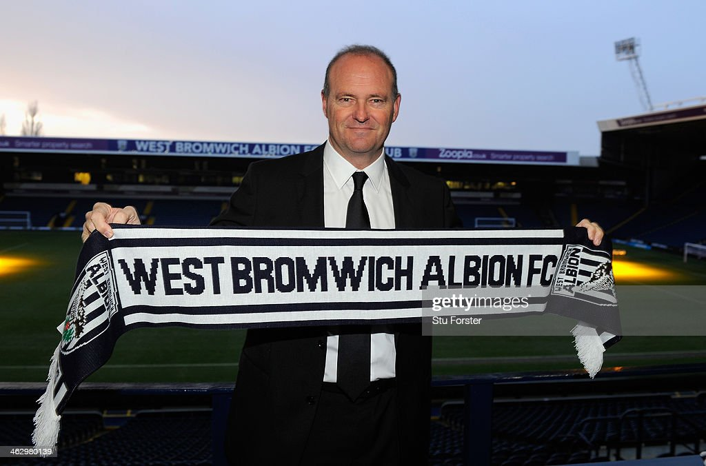 New West Bromwich Albion manager Pepe Mel faces the media before the press conference to announce his arrival, at The Hawthorns on January 16, 2014 in West Bromwich, England.