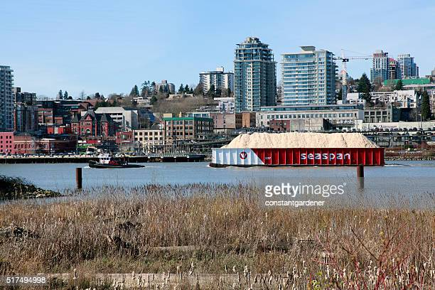New Westminster Skyline And Waterfront